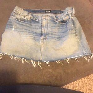 Hudson Jean skirt